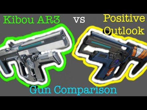 Destiny 2 | Kibou AR3 vs Positive Outlook Comparison!