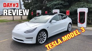 DAY#3 Review Tesla Model 3