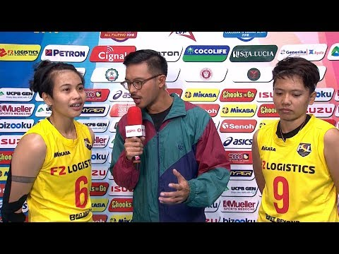 Match MVPs: Ara Galang and Kim Fajardo | PSL All-Filipino Conference 2018