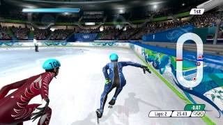 Vancouver 2010 Winter Olympics - Speed Skating 500 m - PC Game