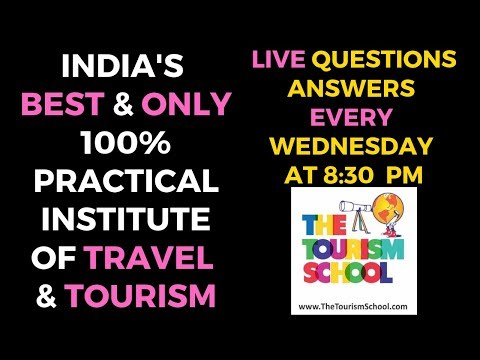 Travel and Tourism Career in India – Best Travel Courses – Best Jobs