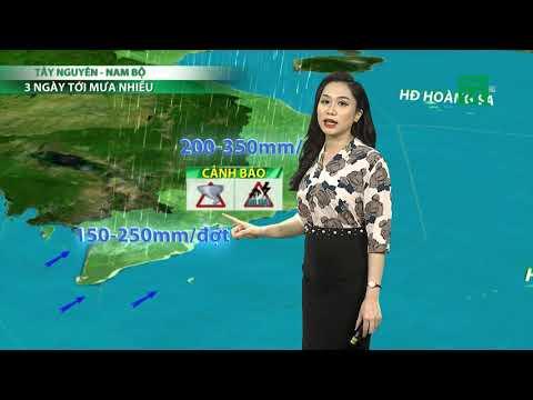 Thời tiết 3 ngày tới (08/10 đến 10/10): Tây Nguyên và Nam Bộ 3 ngày tới có mưa nhiều   VTC14