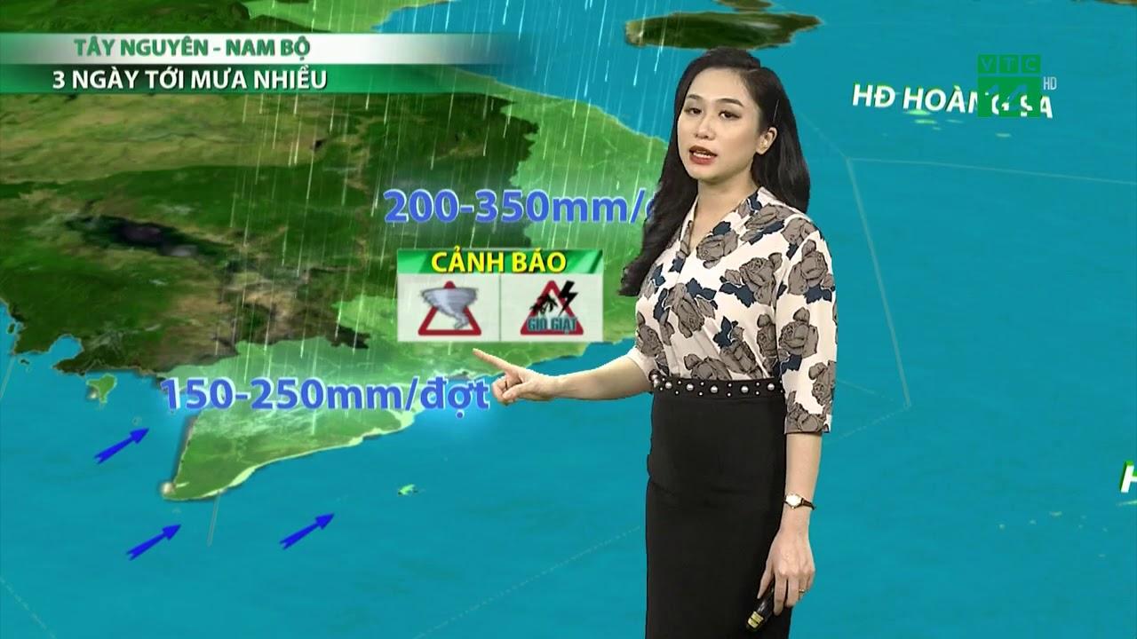 Thời tiết 3 ngày tới (08/10 đến 10/10): Tây Nguyên và Nam Bộ 3 ngày tới có mưa nhiều   VTC14   Thông tin thời tiết hôm nay và ngày mai