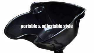 Portable Shampoo Bowl Reviews | Portable Height Adjustable Shampoo Basin Hair Treatment Bowl