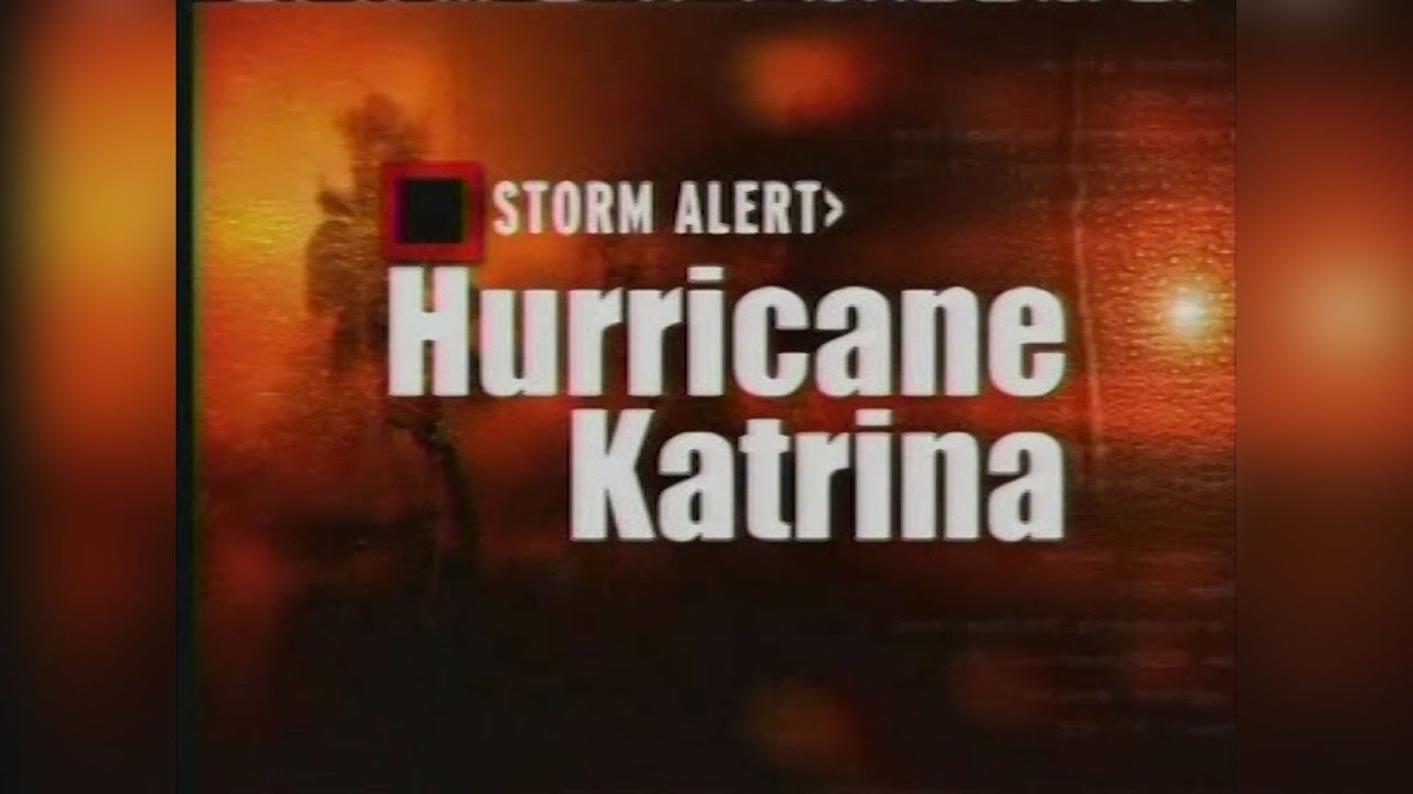 hurricane katrina 5am - weather channel coverage