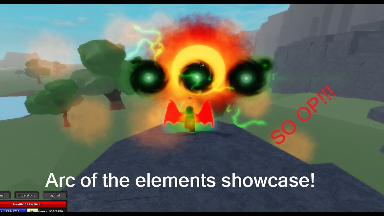 Elemental Grind Game Arc Of The Elements Showcase Youtube