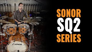 Sonor SQ2 Series with Zildjian K Custom Cymbals