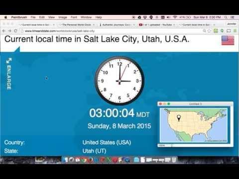 Clocks Move Forward At 2am To 3am, 2015
