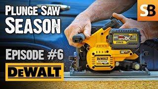 DeWALT DCS520 Cordless 54v Plunge Saw - Episode 6