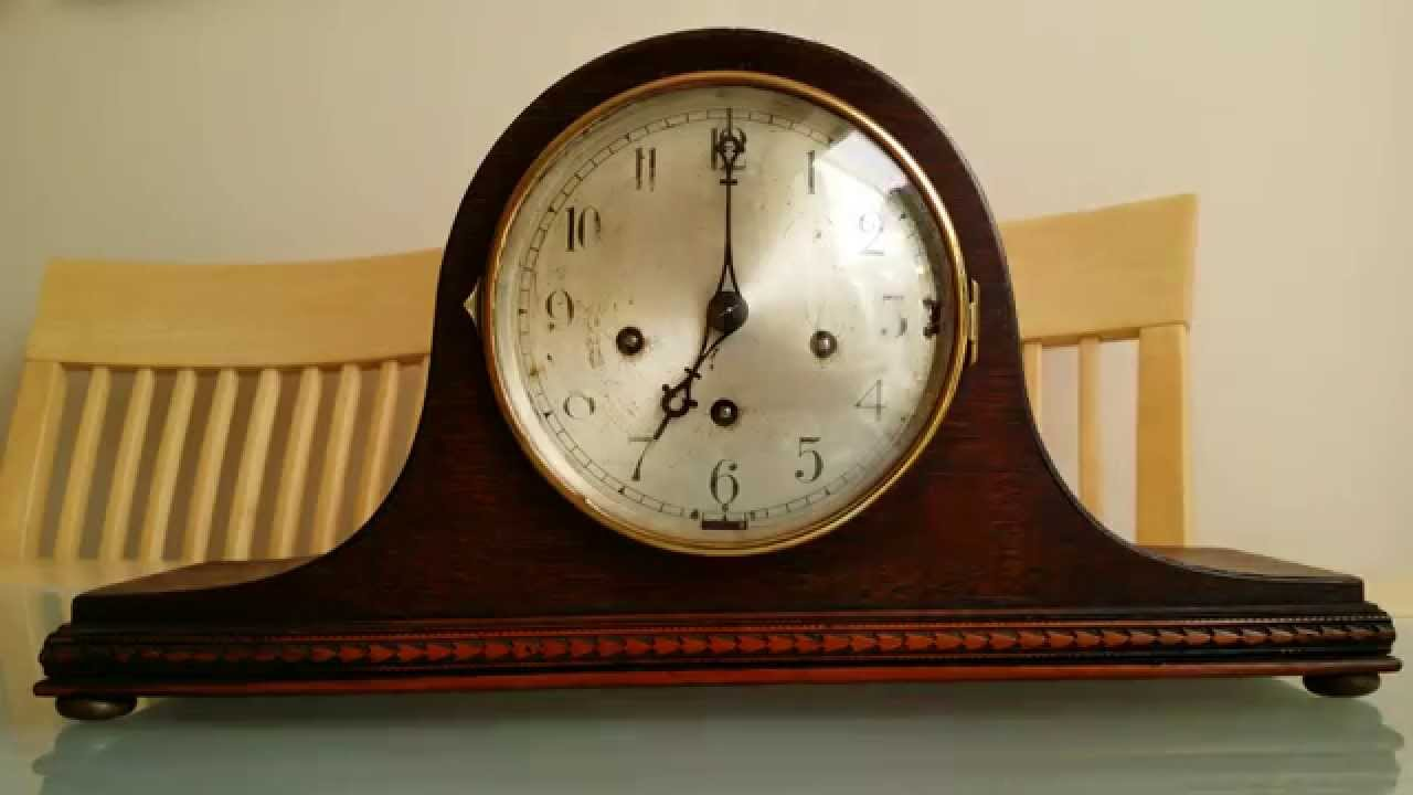 Peerless Triple Chime Mantle Clock For Sale On Ebay Youtube