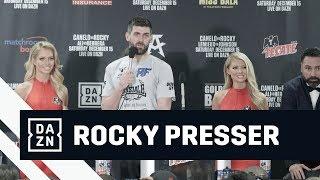 Rocky Fielding Post-Fight Press Conference