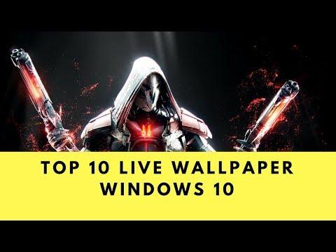 TOP 10 Animated / Live WALLPAPER WINDOWS 10 DECEMBER 2017- WALLPAPER ENGINE