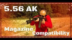 Quick Tip: 5.56x45 / 223 Remington AK Magazine Compatibility (HD)