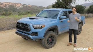 2018 Toyota Tacoma TRD Pro Off-Road Test Drive Video Review
