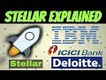 Stellar Lumens Explained | (XLM & IBM)