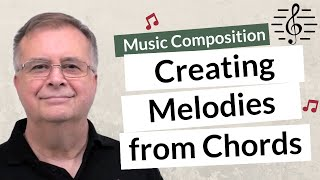 creating Melodies from Chord Progressions - Music Composition