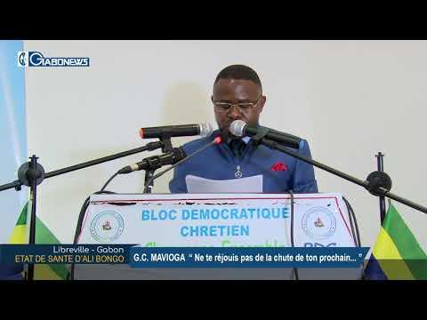 GABON / POLITIQUE : Guy Christian MAVIOGA parle de la l'état de santé d'Ali BONGO ONDIMBA