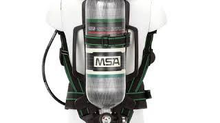 MSA G1 AirHawk, 45 Minute Cylinder, Kevlar Harness
