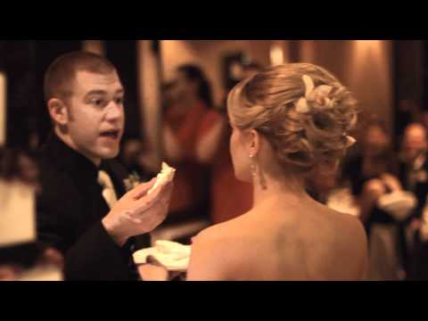 Best Wedding Cake Cutting Ever