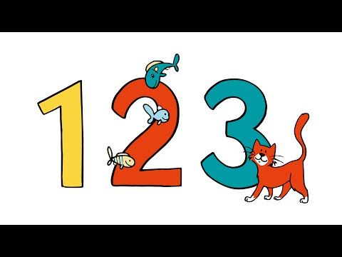 123 Numbers Song - Learn to count from 1 to 10 in german