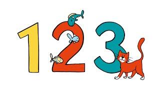 123 Zahlen Lied -  zählen lernen mit Tieren und Co | Deutsch lernen für Kinder | numbers song german