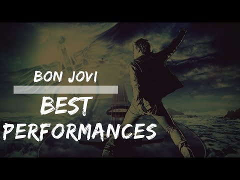 BON JOVI ⭐️ BEST LIVE PERFORMANCES EVER