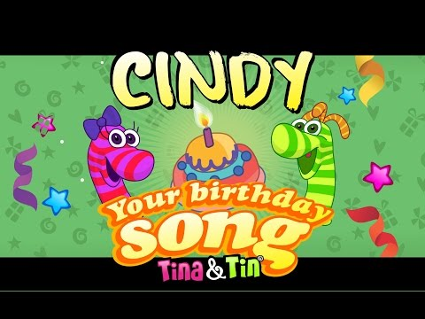 Tina & Tin Happy Birthday CINDY (Personalized Songs For Kids) #PersonalizedSongs