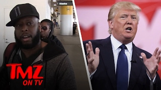 Talib Kweli Tells Us What He Really Thinks About President Trump | TMZ TV