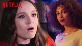 Larissa Manoela reagindo à 2ª temporada de Elite | Netflix