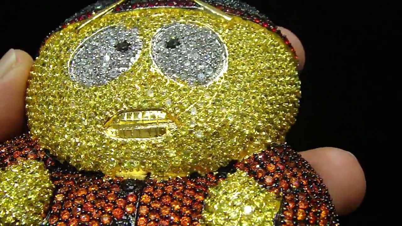 4cf86ae29cd1e Mr Chris Da Jeweler Custom Lab Diamond SouthPark & Stan Pendant by  MrChrisdajeweler