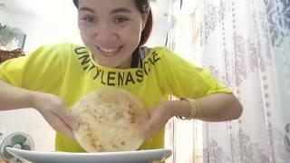 Vlog ăn vặt 9 // Ngân làm bánh bò nướng và cái kết như ý