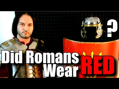 Did Roman Soldiers Wear Red Tunics?