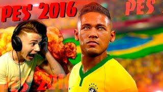 ПЕРВЫЙ РАЗ ИГРАЮ в PES 2016 | Pro Evolution Soccer