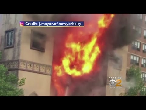 Fire Burns 110-Year-Old NYC Synagogue
