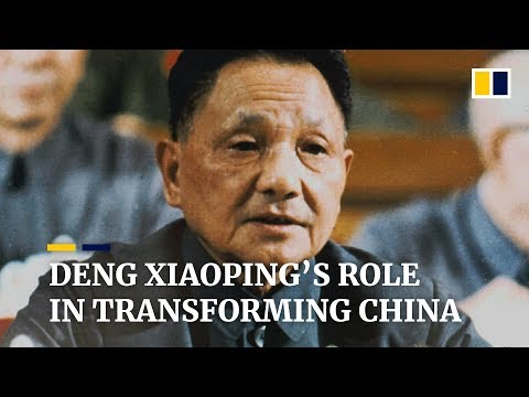 Deng Xiaoping's role in transforming China