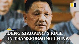 Deng Xiaoping's role in transforming China