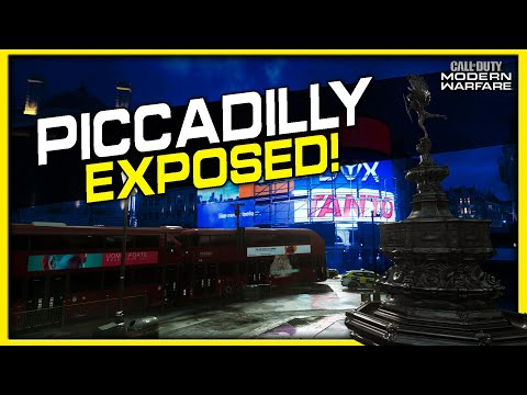 Piccadilly Lines of Sight, Jump Spots and Spawns | (Modern W