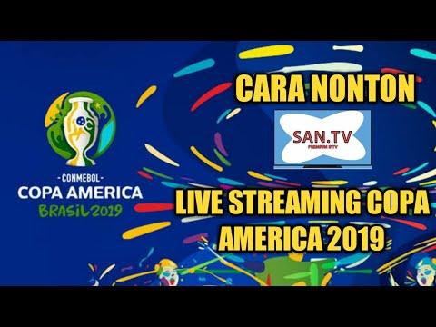 Cara Nonton Live Streaming Copa America 2019