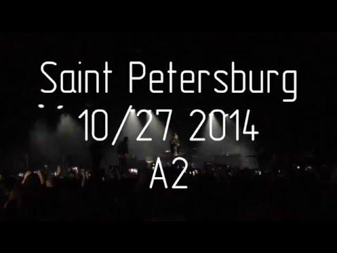 THE NEIGHBOURHOOD 10/27/2014 A2 CLUB Saint Petersburg, Russia