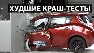 Эти машины лучше не водить. Худшие краш-тесты в истории