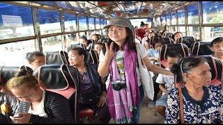 เที่ยวลาว เวียงจันทน์ EP1. รถโดยสารหนองคาย - เวียงจันทน์ : แม่โขง ออนทัวร์