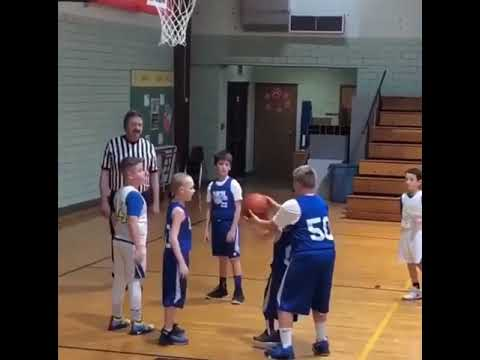 Kelsi - Be Like #50! Kid Plays Basketball With His Heart & Helps A Fellow Teammate