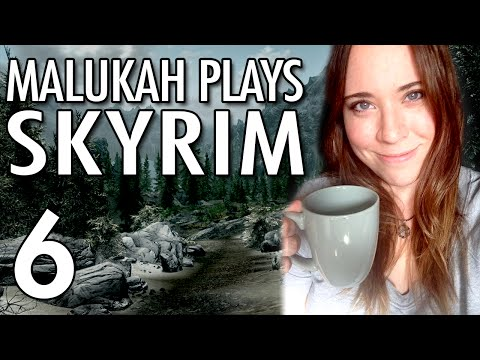 Malukah Plays Skyrim - Ep. 6: Shield Bash!