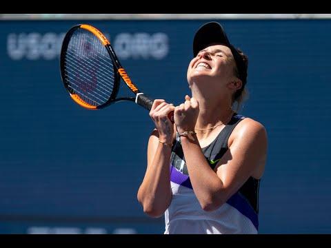 Elina Svitolina Vs Johanna Konta Extended Highlights   US Open 2019 QF