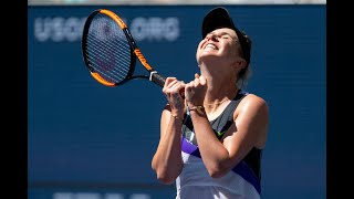 Elina Svitolina vs Johanna Konta Extended Highlights | US Open 2019 QF