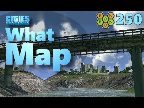 Cities Skylines - What Map - Map Review 250 - Cocorot