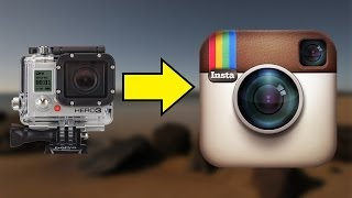 How to upload GoPro or DSLR video from your computer to Instagram for Android