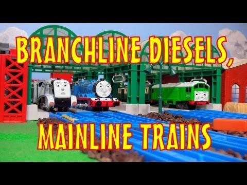 TOMICA Thomas & Friends Short 27: Branchline Diesels, Mainline Trains