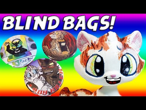 WARRIOR CATS: TRUTH OR DARE: BLIND BAGS + FREE SHIPPING!
