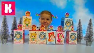 Малыши животные коробочки с сюрпризом игрушкой распаковка Blind box with animal baby's toys unboxing